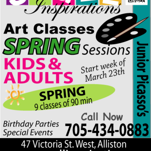 Spring Art Classes at Small Inspirations