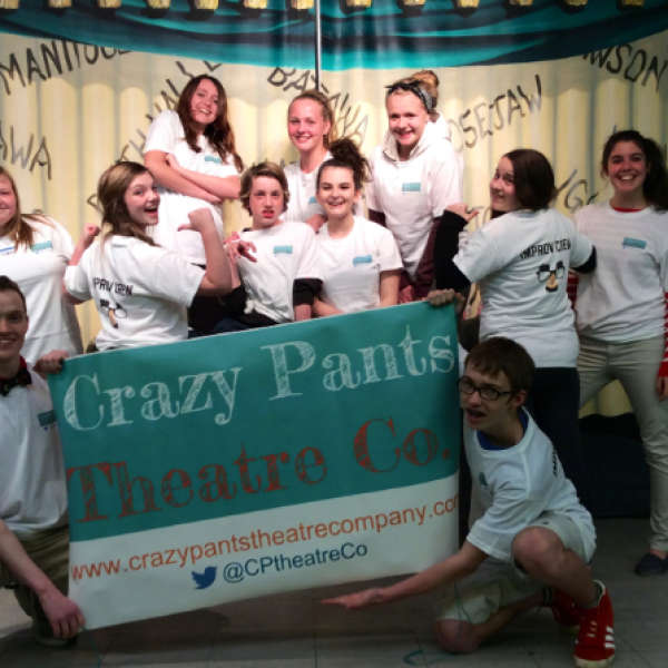 Birthday Parties at Crazy Pants Theatre Co.
