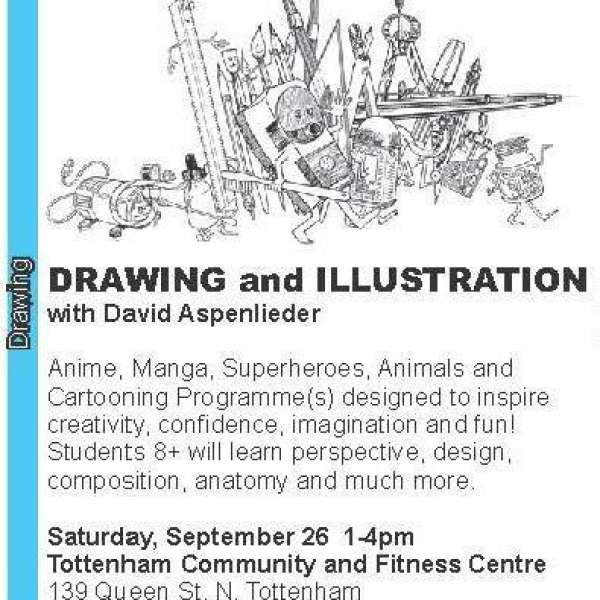 Drawing and Illustration with David Aspenlieder
