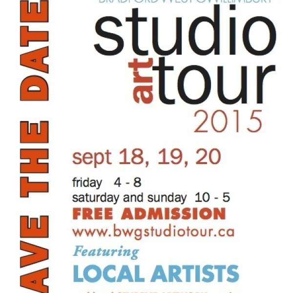 Remember to take in the Bradford West Gwillimbury Studio Art Tour September 18, 19, 20