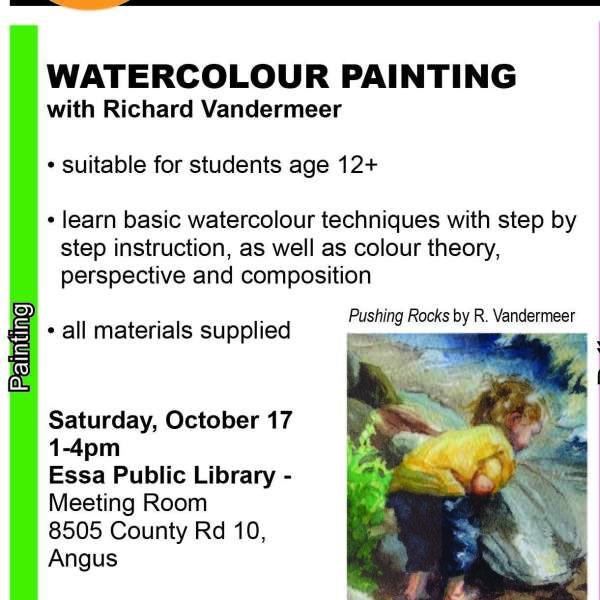 Youth Watercolour Workshop