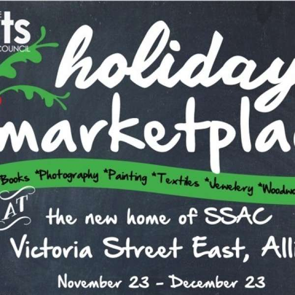 Holiday Marketplace Opening Reception Thursday, December 10th