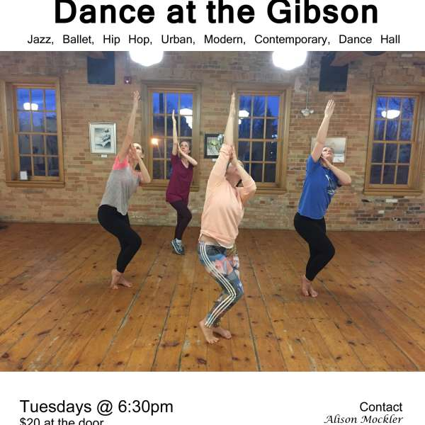 Come and Dance at the Gibson