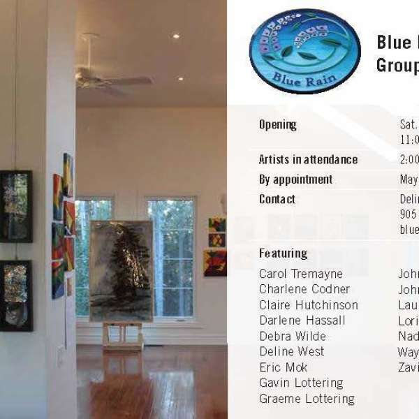 Blue Rain Gallery Group Art Show - Inspired by nature.