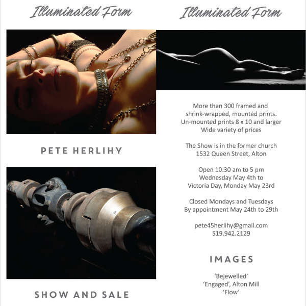 Illuminated Form -  Photography Show and Sale