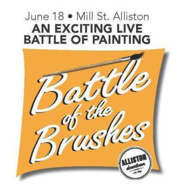 Battle of the Brushes Marketplace Space