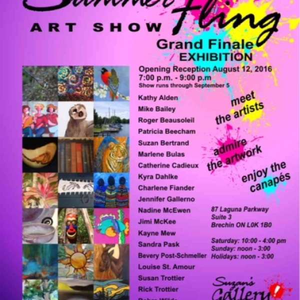 Summer Art Show Fling