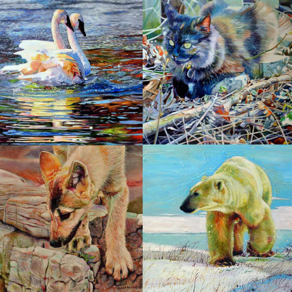 ACRYLIC PAINTING - Go Wild at the Arts Council!