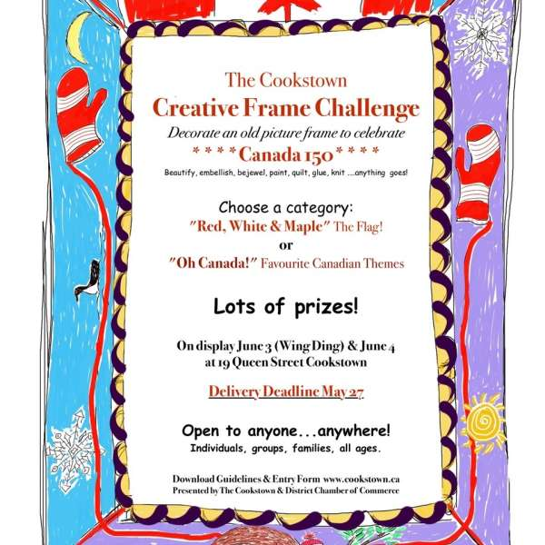 The Cookstown Creative Frame Challenge