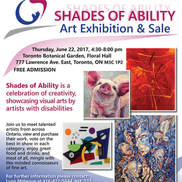 SHADES OF ABILITY Art Exhibition & Sale