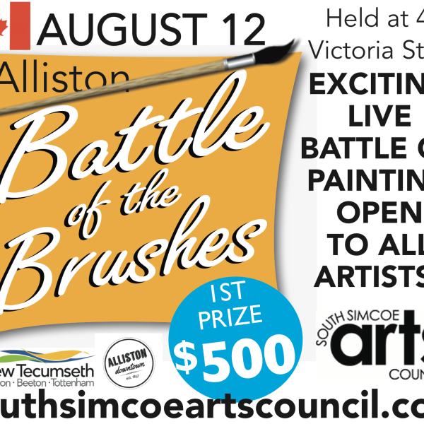 BATTLE OF THE BRUSHES is at POTATO FESTIVAL!