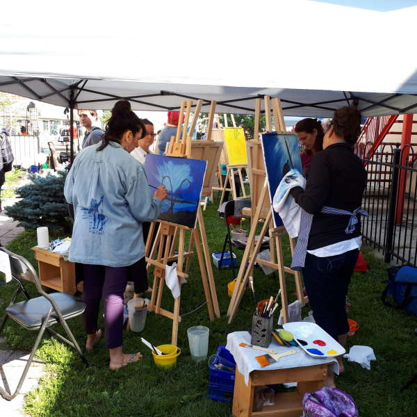 2017 Potato Festival Battle of the Brushes and Artisan Market