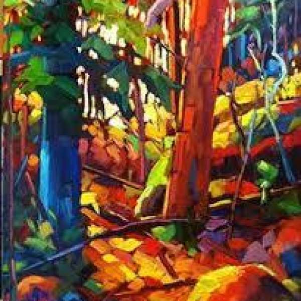 The South Simcoe Palette Club ~ Acrylic Landscape Workshop with John David Anderson