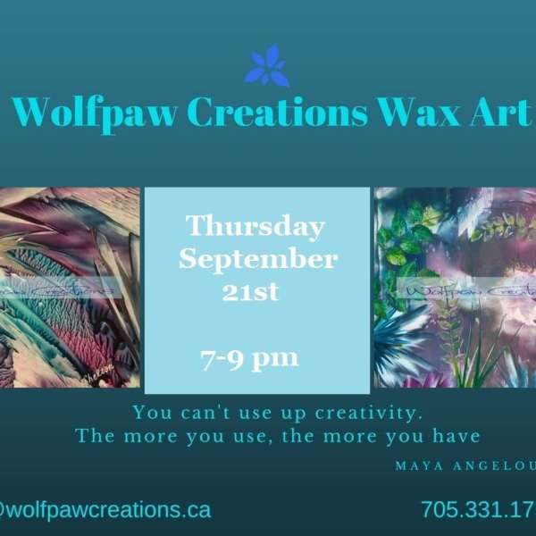 Wax Art Painting Workshop with Dorothy Shelton