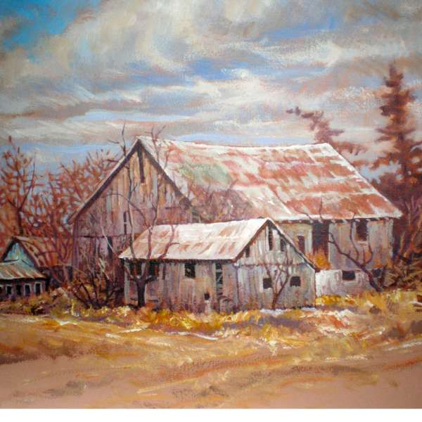 Painting Workshop with Greg Hindle at the South Simcoe Palette Club