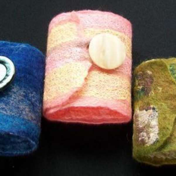 MARCH BREAK: Felted Wrist Bands & Bookmarks
