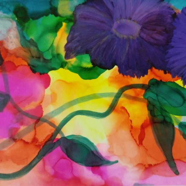 MARCH BREAK: Alcohol Ink Workshop